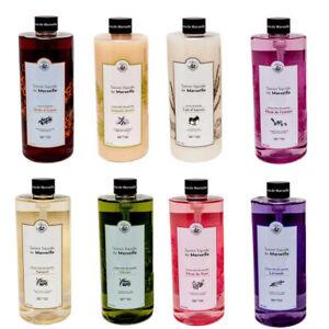 Savon de Marseille - French Liquid Soap with Organic Olive Oil - 1 Litre Refills