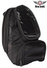 "Motorcycle Magnetic Tank Bag With Gun Pocket,Full Window  Smart Phone 4"" x 7"""