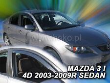 HEKO Windabweiser MAZDA 3 4/5türer 08/2003-heute 2teilig Regenabweiser 23126