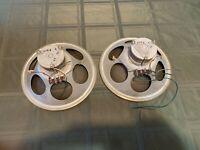 RARE Philips 9754 800 ohm OTL Speakers matched pair ALNICO EL84 tube amp