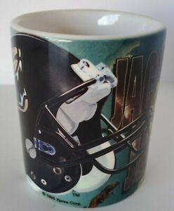 NFL JACKSONVILLE JAGUARS COFFEE CUP NFL label on bottom Tim Tebow's new team