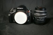 Sony Alpha a230 10.2MP Digital SLR Camera - Black (Kit w/ DT SAM 18-55mm Lens)