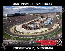 Virginia - MARTINSVILLE SPEEDWAY - Travel Souvenir Flexible Fridge Magnet
