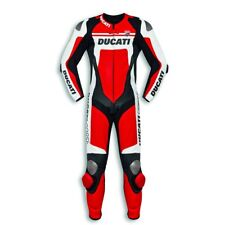 DUCATI CORSE C4 ONE PIECE DAINESE LEATHER SUIT SIZE EURO 52 P/N 981045152