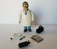 Playmates The Simpsons Dr. DOCTOR HIBBERT Loose Complete WOS