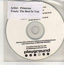 (CU629) Primrose, The Best In You - DJ CD