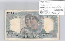 BILLET RARE!!!! 1000 F Minerve Hercule  12-4-1945 - 1ER JOUR RARE!!!!!