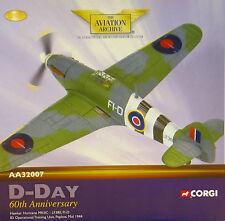 Corgi aa32007 Hawker Hurricane MK II RAF no.83 otu , lf380, RAF peplow, 81/3300