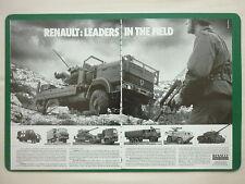 10/1988 PUB RENAULT VEHICULES INDUSTRIELS TRM 2000 G290 ORIGINAL AD