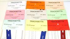 Tracksetta Gauges - Set of 9 - NEW.(00/H0)