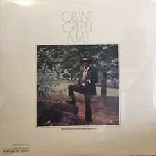 Grant Green ALIVE! (4360) Blue Note Records NEW SEALED Vinyl Record LP