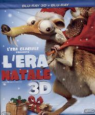L'ERA GLACIALE - L'ERA NATALE BLU-RAY 3D NUOVO E SIGILLATO, ITALIAN0