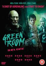 Green Room DVD 2016 R2 Anton Yelchin Patrick Stewart