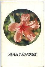 CP Martinique - Hibiscus - Carte 2 volets
