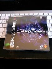 RARE PS1 PLAYSTATION STAR OCEAN THE SECOND STORY NEW & SEALED L@@K!