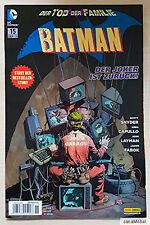 Batman - Nr. 15 - Sep. 2013 - Panini Comics - DC Comics - Neuwertig - Ungelesen