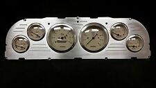 1960 1961 1962 1963 Chevy Truck 6 Gauge Dash Panel Insert Brushed Billet