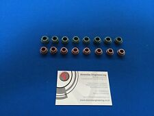 RS Cosworth Genuine Valve Stem Oil Seals 8 x Inlet & 8 x Exhaust seals