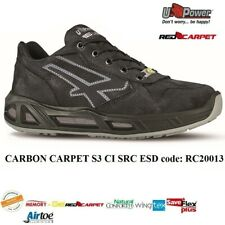 UPOWER SCARPE LAVORO ANTINFORTUNISTICA CARBON CARPET S3 CI SRC ESD U-POWER