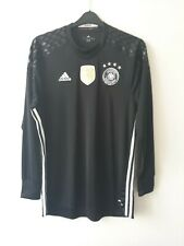 GERMANY NATIONAL TEAM 2016/2017 GOALKEEPER FOOTBALL SHIRT JERSEY