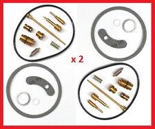 KR Carburetor Carb Rebuild Repair Kits x2 YAMAHA TX 500 1973-1975 KY-0154F