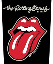 Rolling Stones Tongue  giant sew-on backpatch 360mm x 290mm (rz)