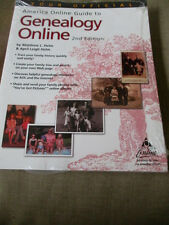 America Online Book- Guide to Genealogy Online 2nd Edition New Sealed