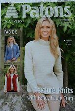 Knitting Pattern Ladies Womans Jumper Sweater Jacket Aran Cable DK Double Knit