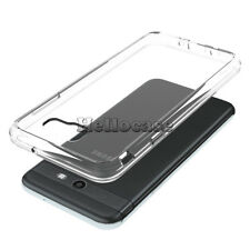 For Samsung Galaxy J7 Prime/Sky Pro/J7 V/Perx Crystal Clear Case Cover Bumper