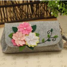 Handbag Craft Handmade Felt Non-Woven Cherry Hand Bag Diy Material Package G