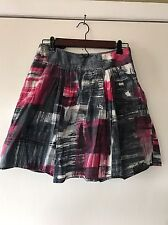 Ipsa A Line Skirt 100% Cotton Women's Size 4