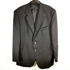 Men's Skopes Two Button Formal Dinner Suit Jacket | Black | 46R | 100% Wool VGC