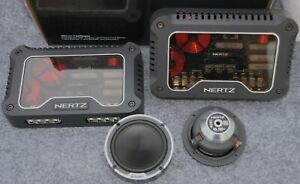 Hertz ML700.3 Mille Legend Midrange Speakers and Crossovers MLCX2 TM.3