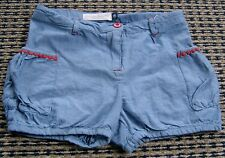 YOUNG HEARTS BY COLLETTE DINNIGAN GIRLS SOFT DENIM SHORTS SZ 6