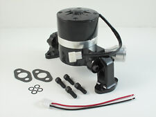 FORD SBF Electric Water Pump. Cranks out 35 GPM Shiny Black Finish HC8030BK