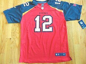 NIKE NFL ON FIELD TAMPA BAY BUCCANEERS TOM BRADY JERSEY SIZE YOUTH XL (18-20)