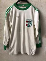 Maglia Short Calcio ST.F.V. Adidas Erima Germany Match Worn #10 80s Ottima Long