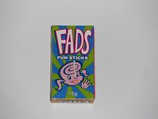 4 x FADS Fun Stickks Lollies 15g each