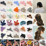 Women Large Acrylic Hair Claw Clips Barrette Crab Clamp Hairpin Hair Accessories