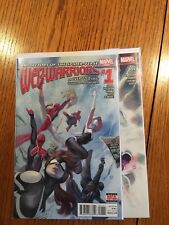 Web Warriors 1-4 Complete Comic Lot Run Set Marvel Collection Spider-Gwen Nm+