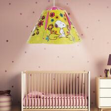 Baby Kinder Zimmer Hänge Leuchte Beleuchtung bunt Decken Pendel Lampe SNOOPY