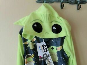 Star Wars Baby Yoda Boys 1 Pc Blanket Sleeper-8-Pajamas