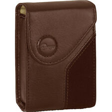 Lowepro Napoli 20 Leather Compact Case Chocolate Brown UK Stock BNIB