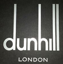 Alfred Dunhill London sticker / decal
