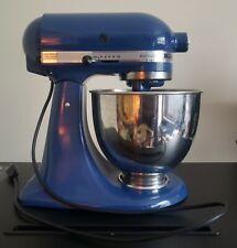 Kitchenaid Artisan 3.5 qt. tilt head stand mixer, blue, 3 attachments