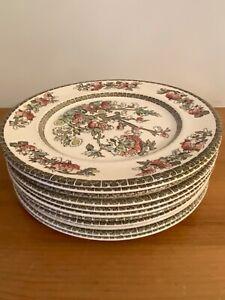 "Vintage China Johnson Bros Indian tree 8""plate"