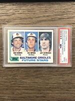 1982 Topps Baseball Cal Ripken Jr Rookie PSA 8 Orioles NM-MT RC #21