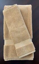 Restoration Hardware 802-GRAM Turkish HAND TOWEL & WASH CLOTH - Gold