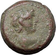 ANTIOCHOS IX 112BC Eros Cupid Love & Nike Authentic Ancient Greek Coin i47593