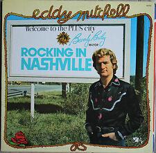 """EDDY MITCHELL """"ROCKING IN NASHVILLE""""  33T  LP"""
